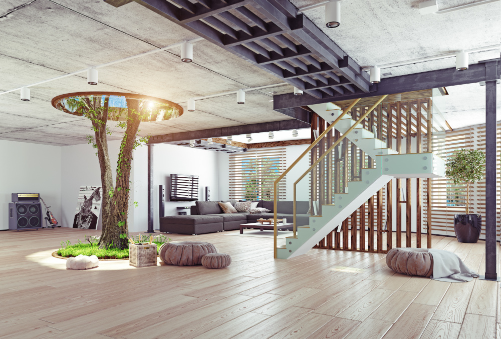 mieszkanie w stylu eko