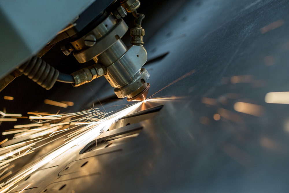 cięcie metali metodą laserową