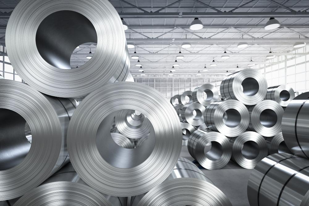 stalowe rury w hurtowni stali
